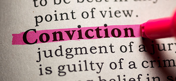 A criminal conviction has serious ramifications to a convicted person.