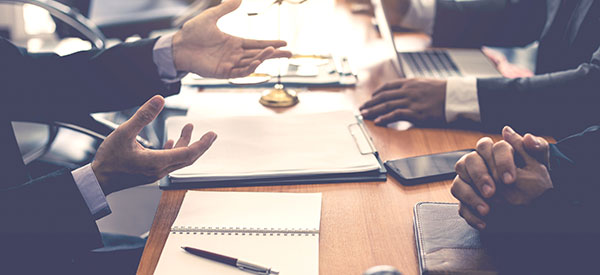 Law firms have areas of specialization to meet targeted clientele such as companies and businesses.