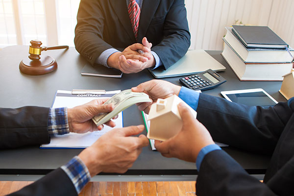 Lawyers assist businesses in the collection of bad debts.
