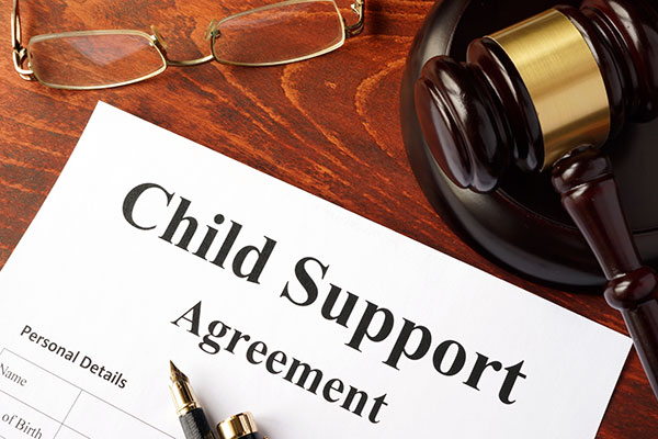 The way to fix support payments does not change except at the level of divorce.