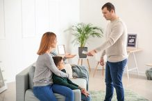 When separating, one of the spouses may have to pay child and spousal support