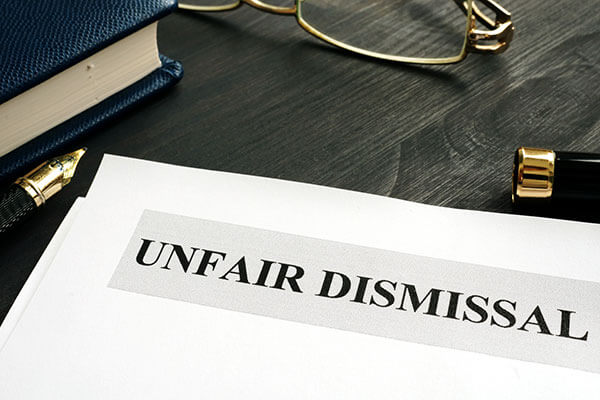 The law provides specific grounds for unlawful dismissal at the workplace.
